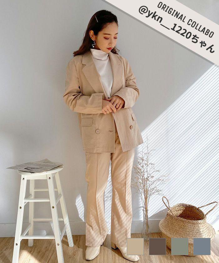 パンツ yukino × mimi セミフレア mimi toujours