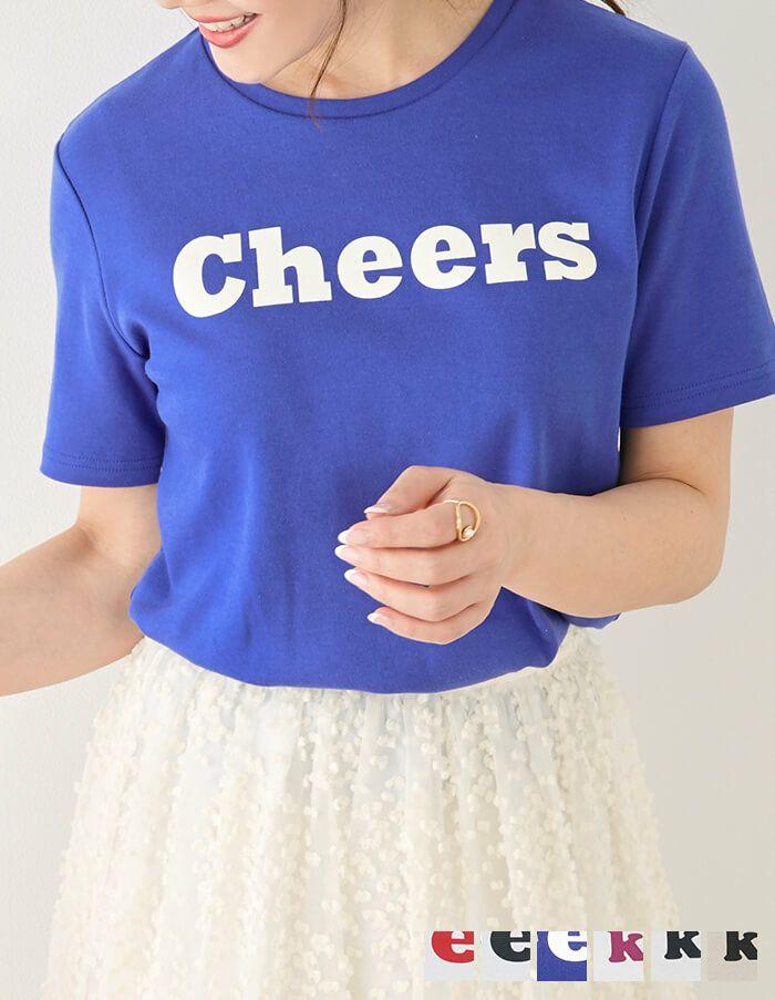 Tシャツ ロゴ プリント Liala×PG