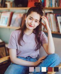Tシャツ ロゴ刺繍 Tina オリジナル Airi × mimi