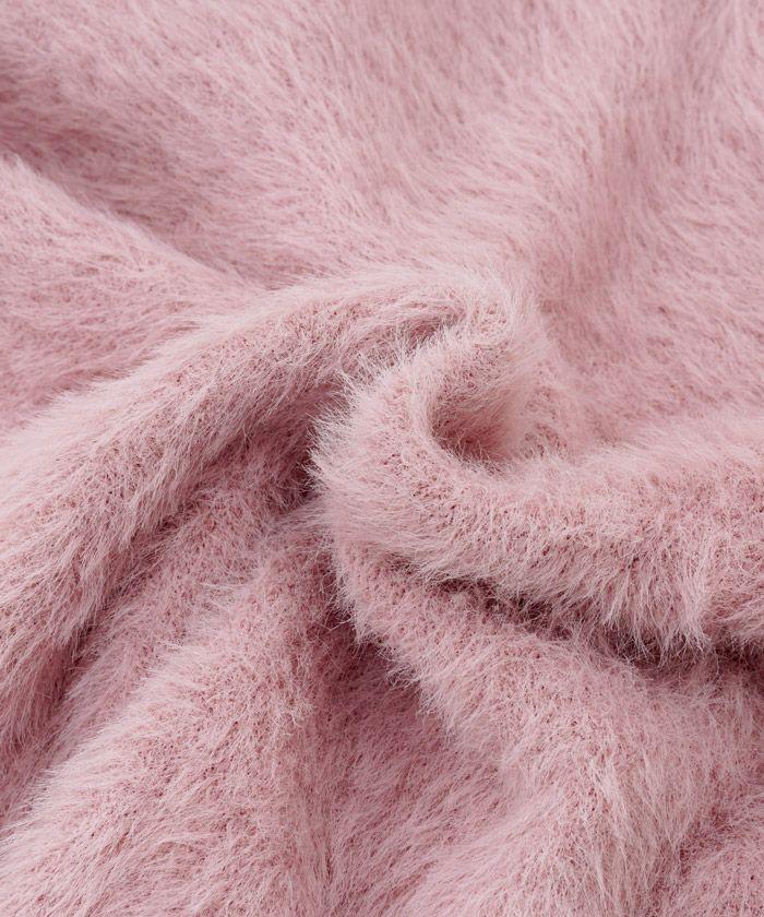 手洗い可/長袖/真珠/ショート丈/羽織/上品/ブラック/ベージュ/グレージュ/ピンク/フェザー/ボレロ/羽織り