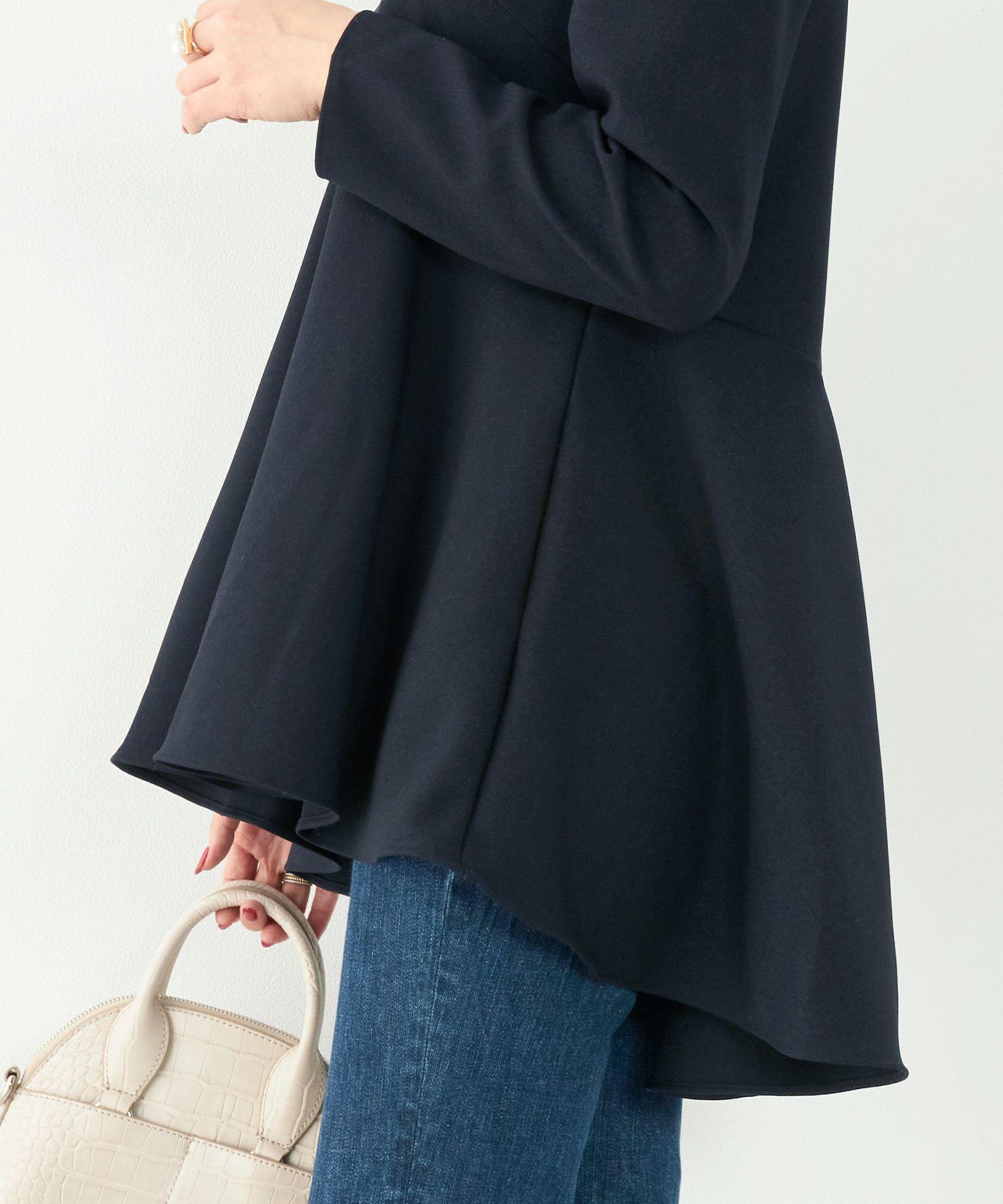 日本製/きれいめ/イレヘム/シンプル/パフスリーブ/春/秋