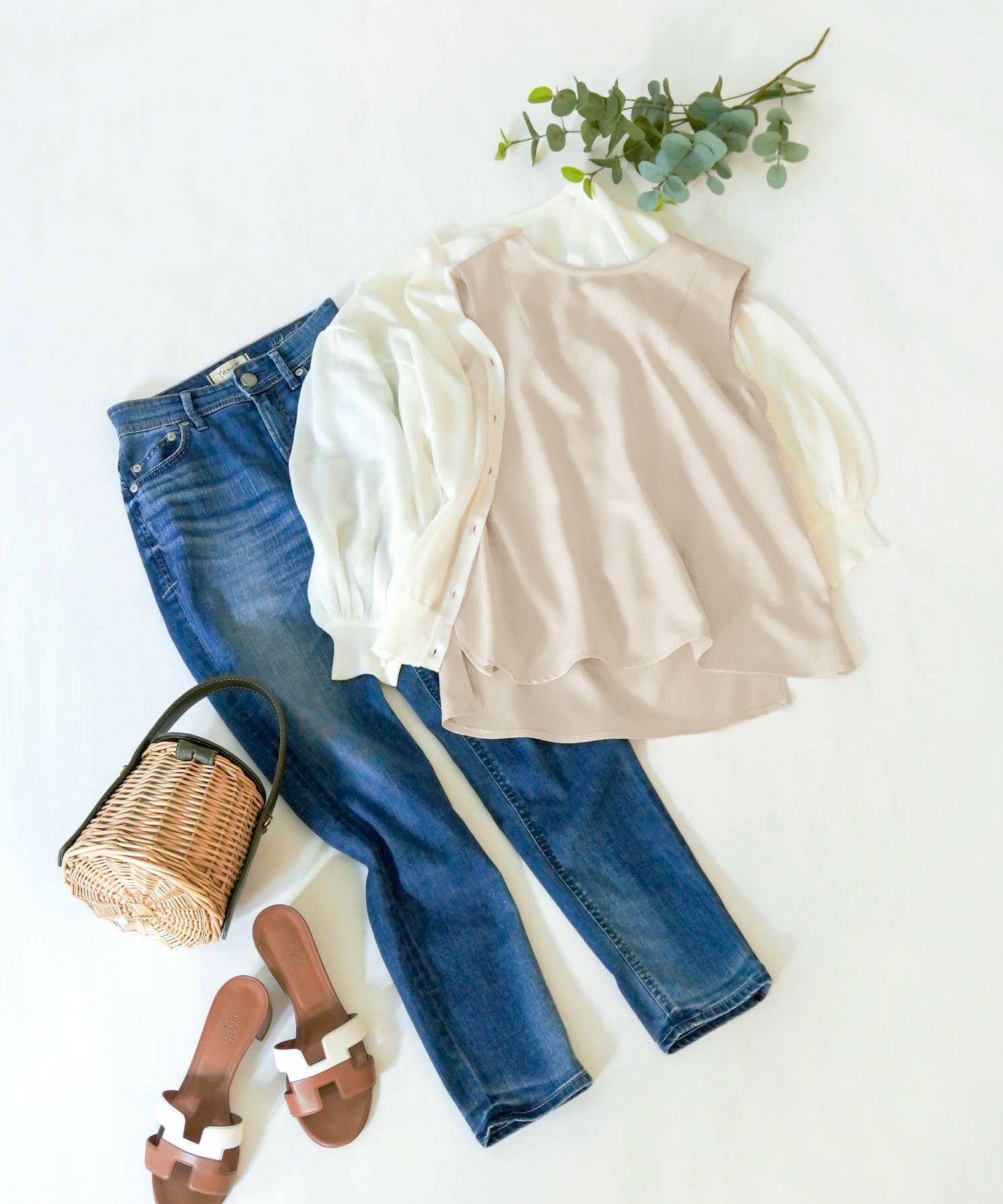 日本製/シンプル/インナー/着回し/レイヤード/春/夏/秋