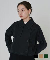 ★ショート丈トレンチコートTINA:JOJUN