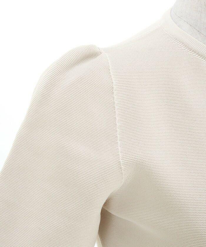 プリマシェレル/PrimaScherrer/日本製/レディース/アウター/羽織り/ニット/ジャケット/フロントジップ/カーディガン/ホールガーメント/羽織り/チャーム付き/サステナブル/無縫製/サブステナブル/洗濯可/S/M/ホワイト/ベージュ/ネイビー/サックス/ラベンダー/ブラック/