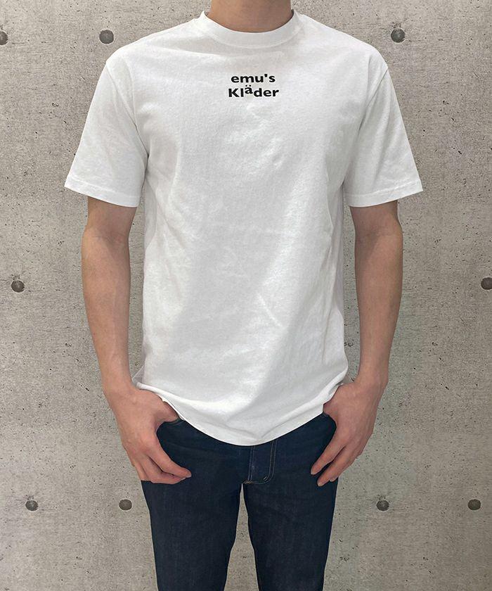 Tシャツ/ロゴT/ユニセックス/ホワイト/ブラック