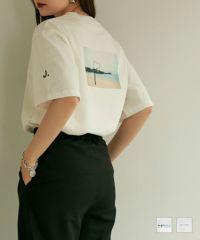 ★ユニセックスプリントTシャツTINA:JOJUN