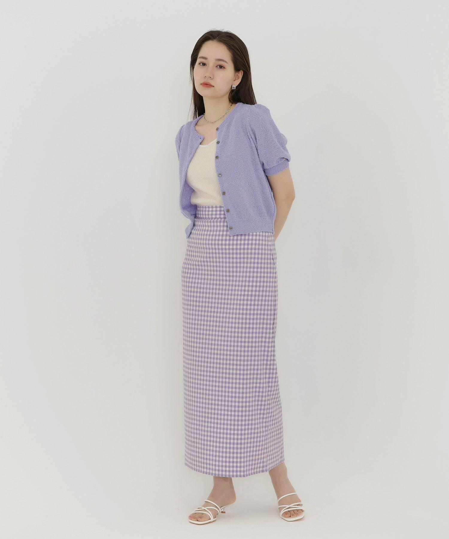 ロングスカート/柄スカート/ハイウエスト