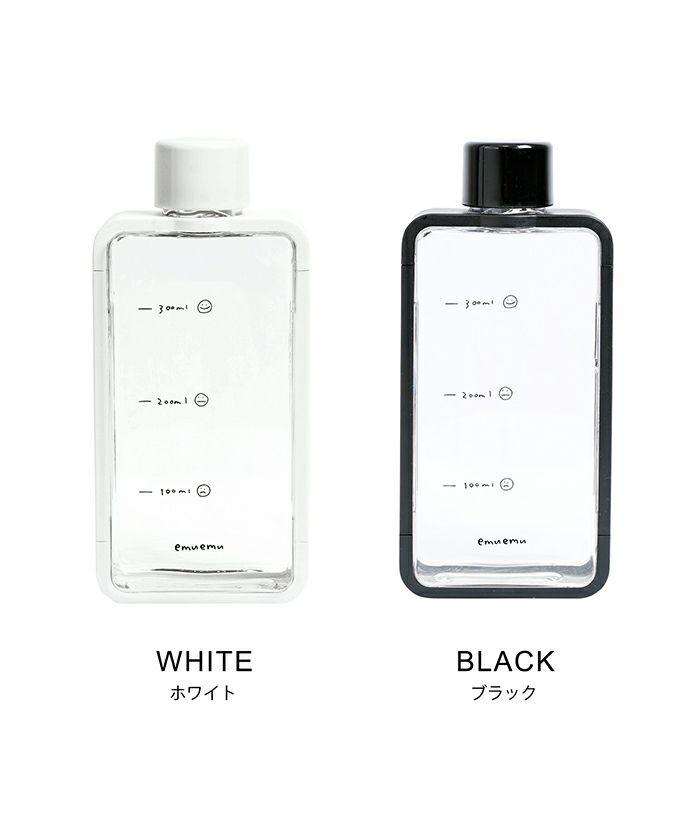 ウォーターボトル/水筒/アウトドア/クリア/ホワイト/ブラック