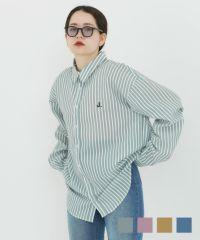 ★ ユニセックスストライプシャツ TINA:JOJUN
